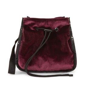 NWT LeSportsac Drawstring Crossbody Bucket Bag